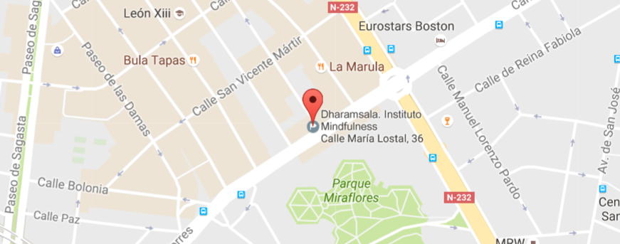 Dharamsala. Instituto de Mindfulness y Psicoterapia de Zaragoza